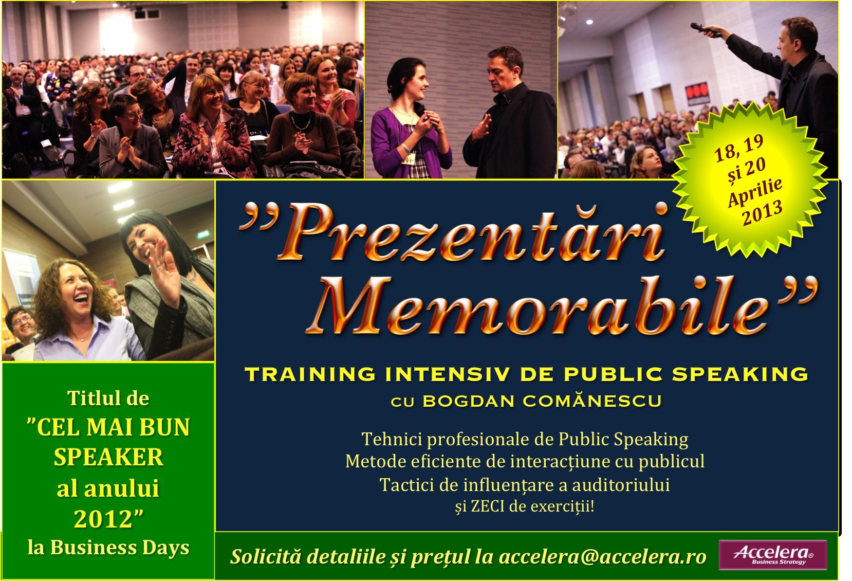 Accelera Public Speaking