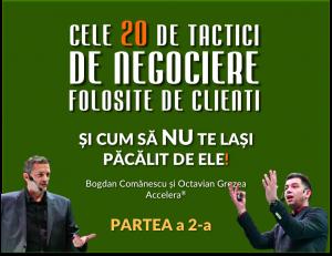 20 de tactici de negociere accelera partea 2