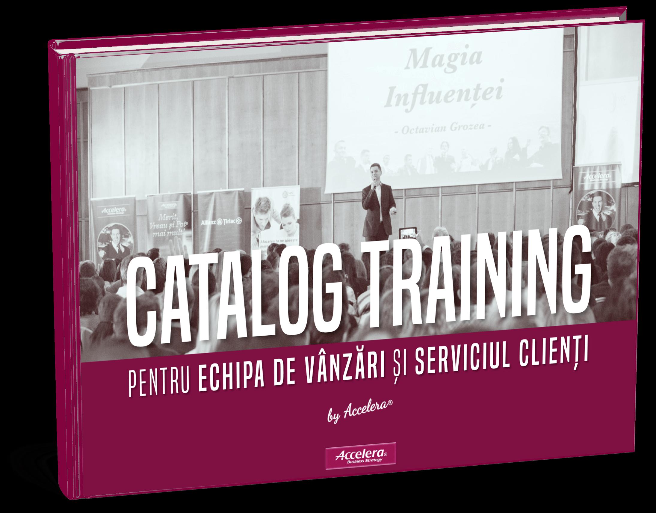 Accelera catalog training
